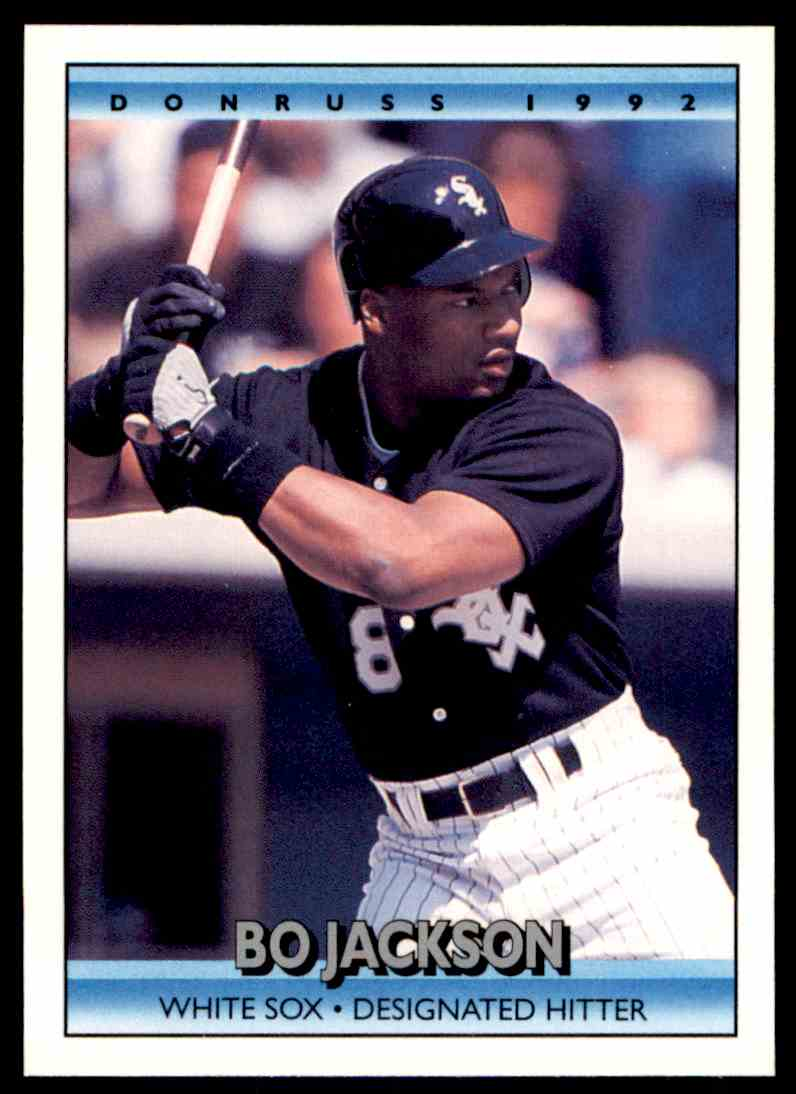 1992 Donruss Mlb Bo Jackson 470 On Kronozio