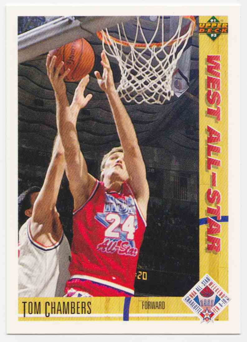 1991 92 Upper Deck Base Tom Chambers 56 Card Front Image