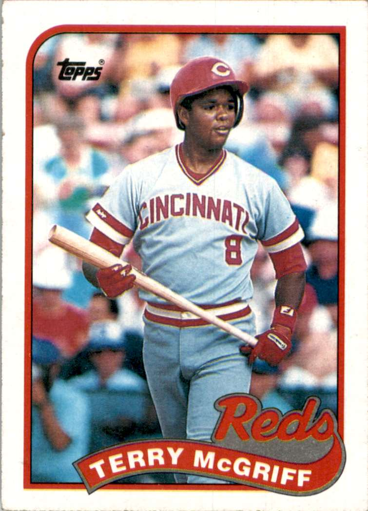 1989 Topps Terry McGriff #151 card front image