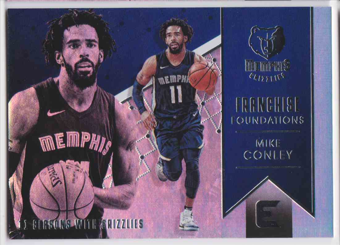 2017-18 Panini Essentials Franchise Foundations Mike Conley #FF-23 card front image