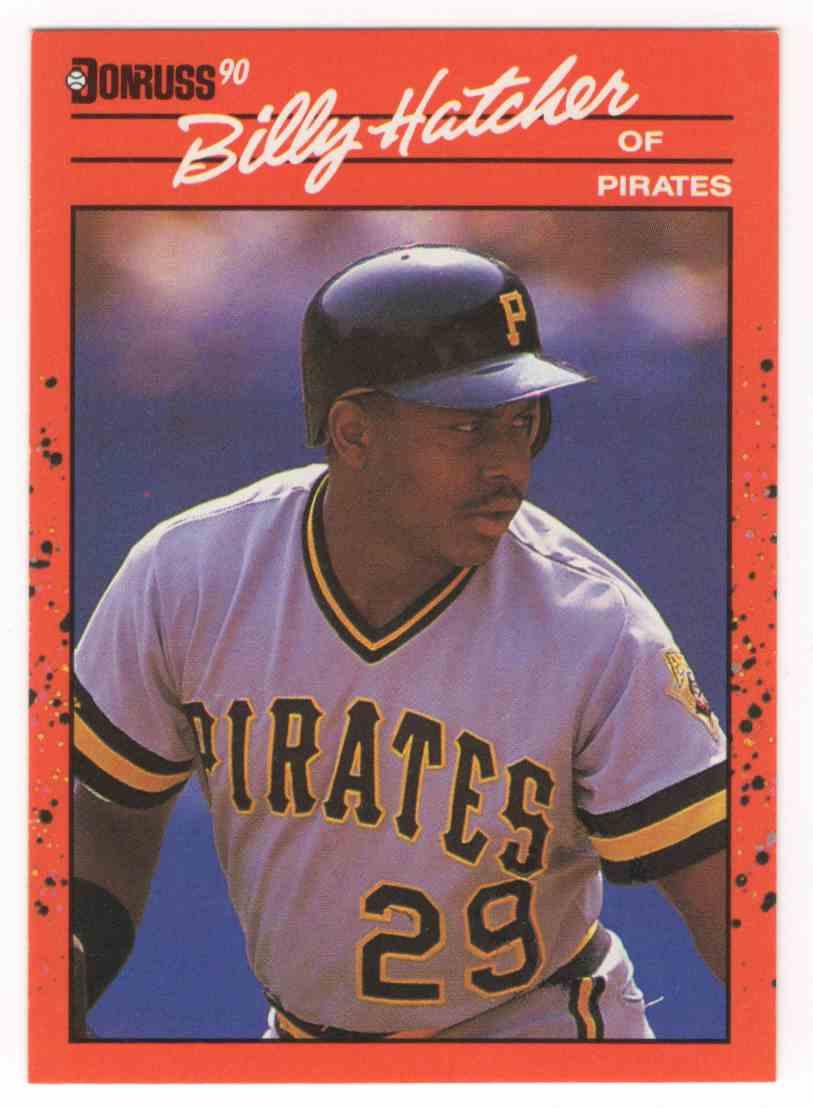 1990 Donruss Billy Hatcher Dp #616 card front image