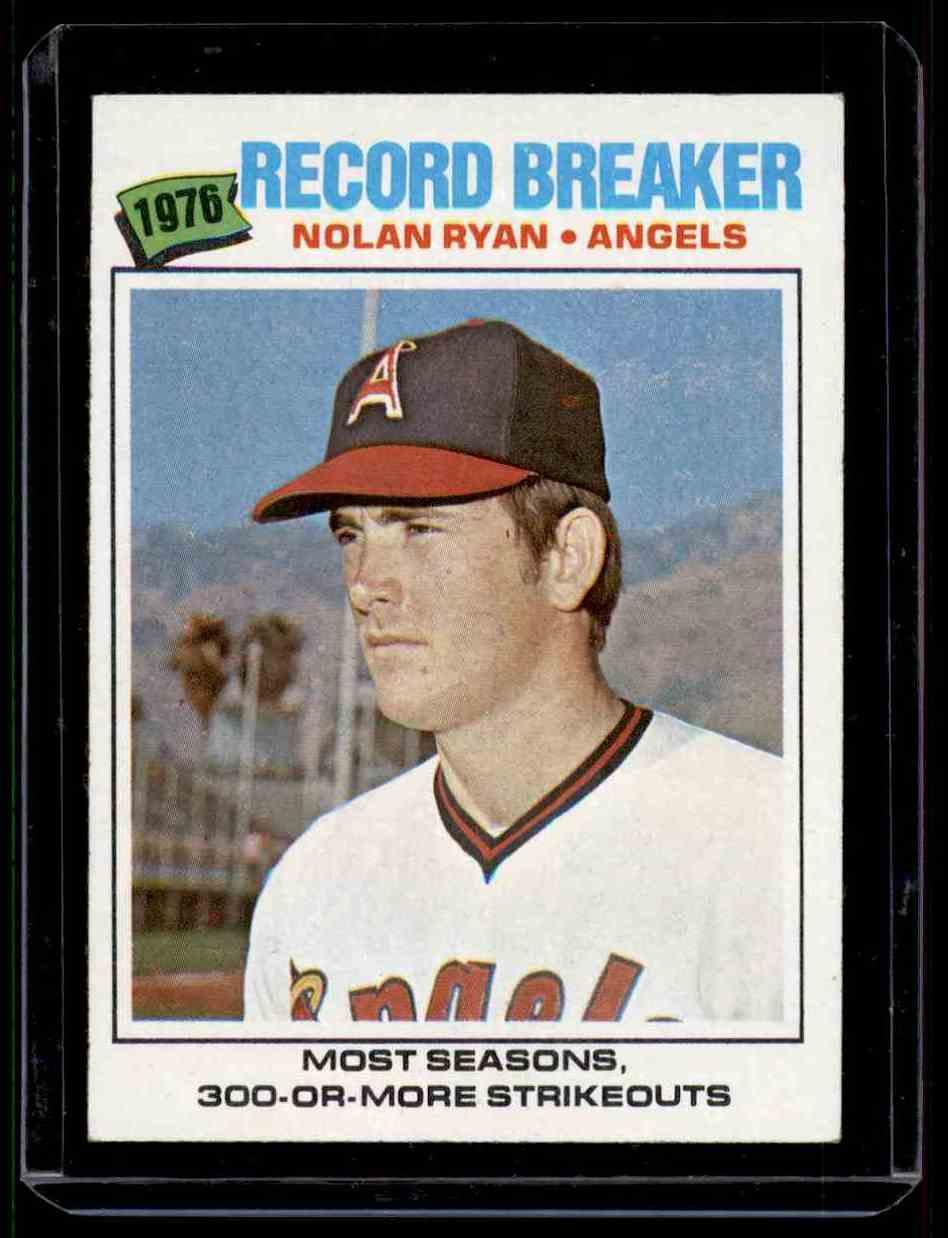 1977 Topps Nolan Ryan Exmt+ #234 card front image