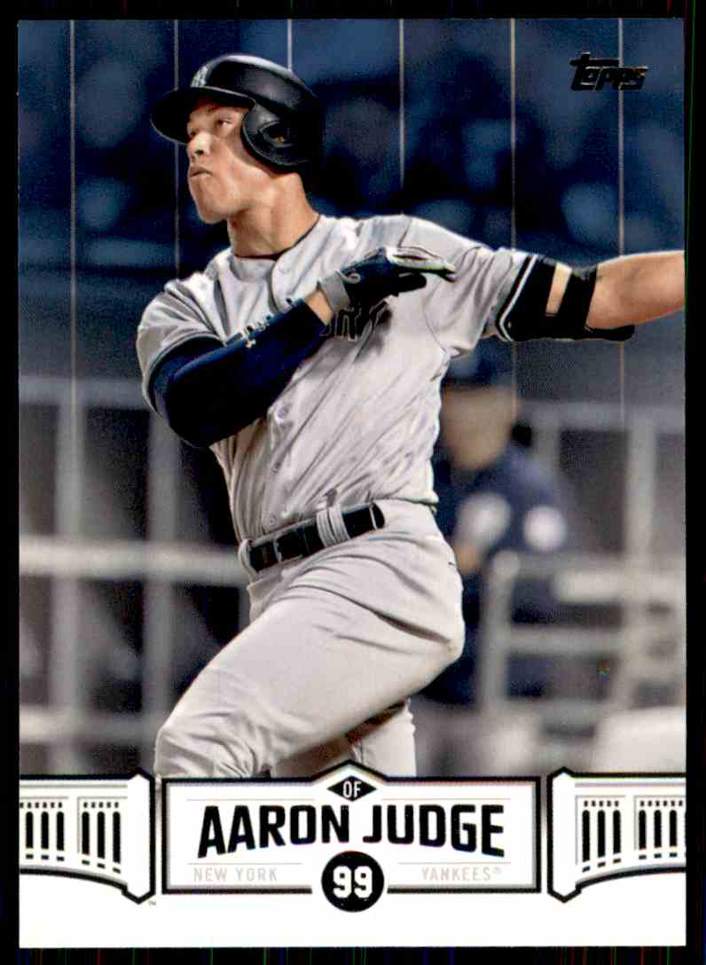 2018 Topps Aaron Judge #AJ-12 card front image