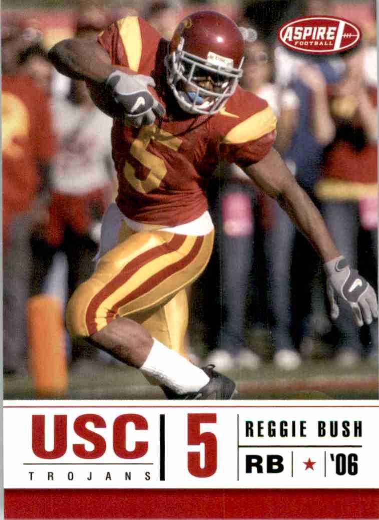 2006 Aspire Reggie Bush #1 card front image