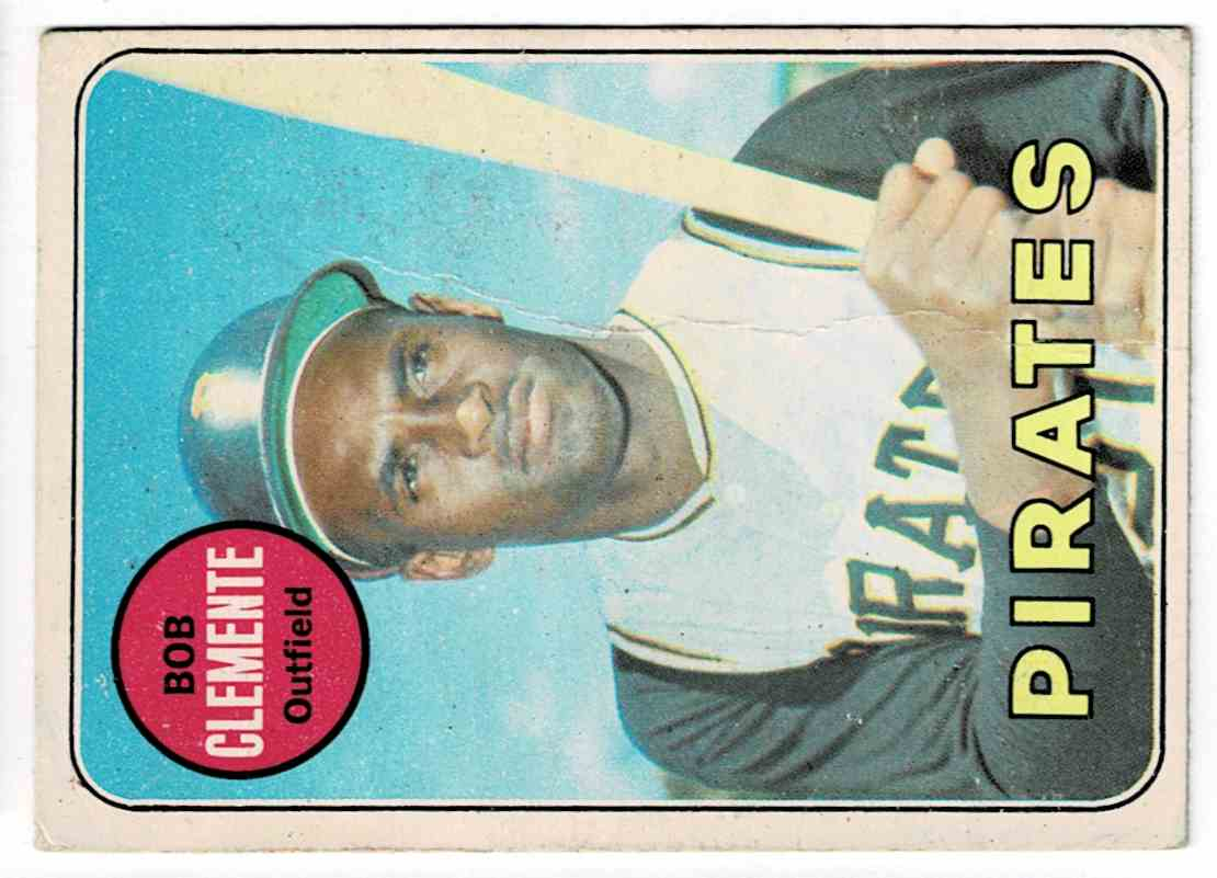 1969 Topps Roberto Clemente #50 card front image