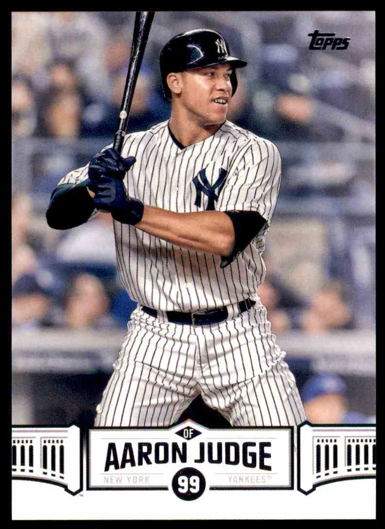 2018 Topps Series 2 Highlights Aaron Judge New York