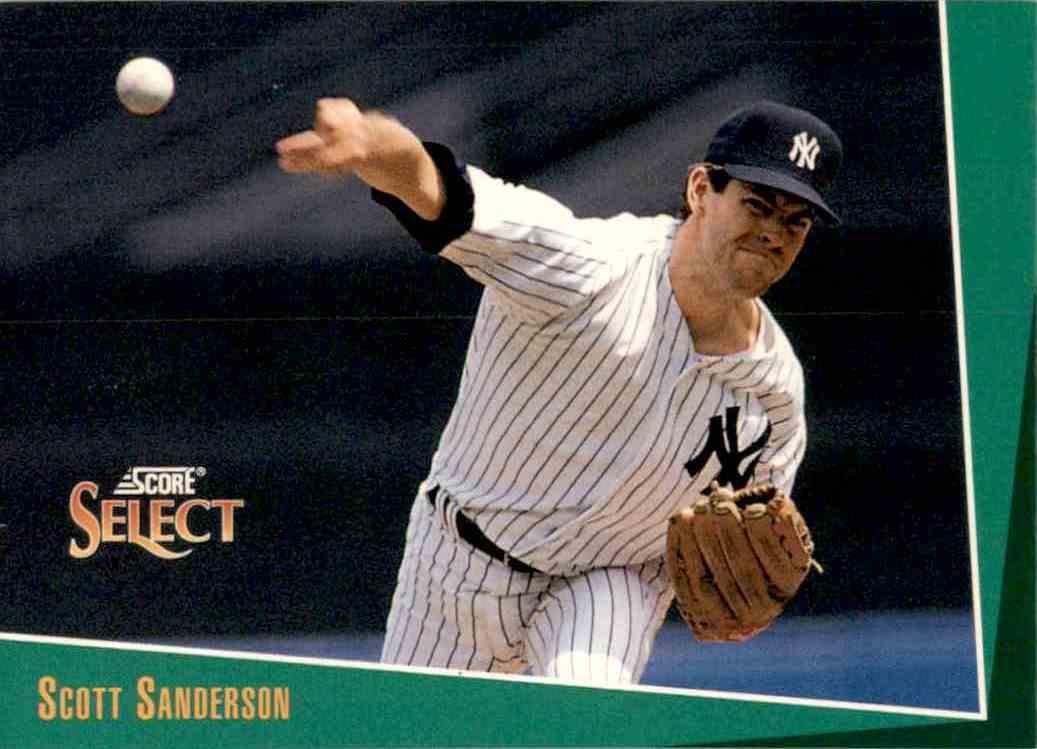 1993 Select Scott Sanderson 261 On Kronozio