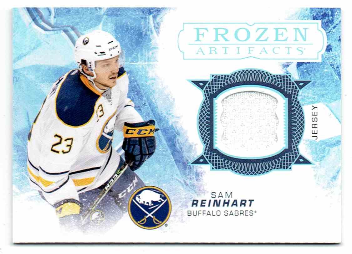 2017-18 Upper Deck Artifacts Frozen Sam Reinhart #FA-SR card front image