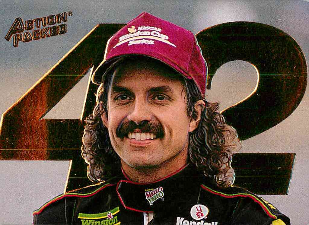 1993 Action Packed Kyle Petty #KP2 card front image