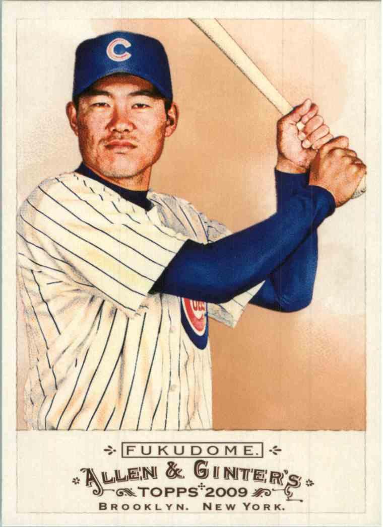 2009 Topps Allen Ginter Kosuke Fukudome 309 Card Front Image