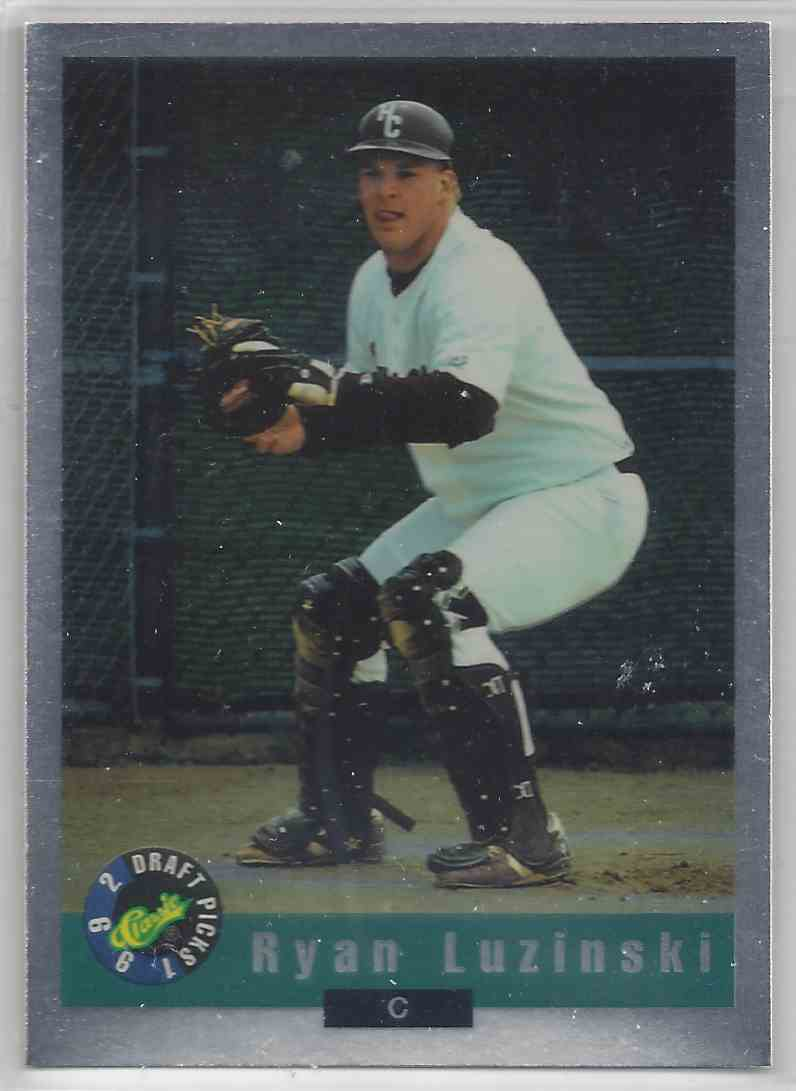 1992 Classic Draft Picks Silver Foil Ryan Luzinski #BC16 card front image