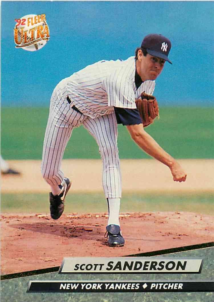 1992 Fleer Scott Sanderson 414 On Kronozio
