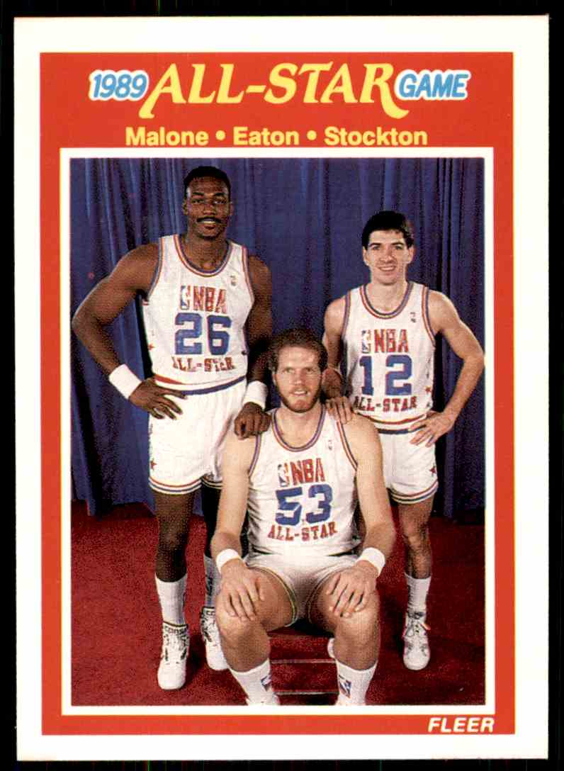 1 Karl Malone Mark Eaton John Stockton trading cards for sale