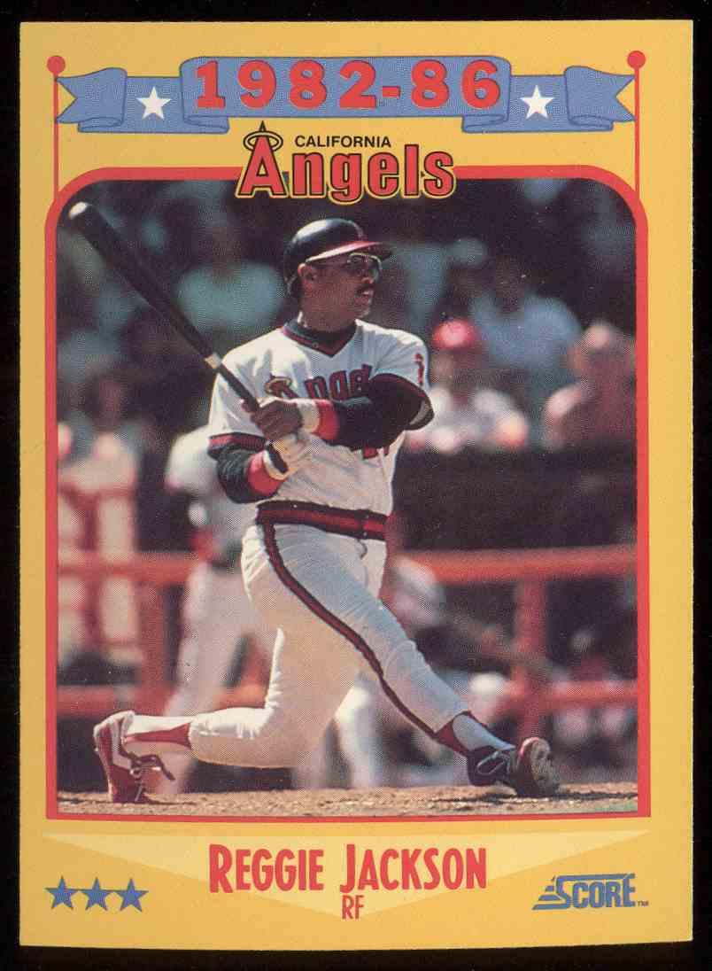 1988 Score Reggie Jackson 503 On Kronozio