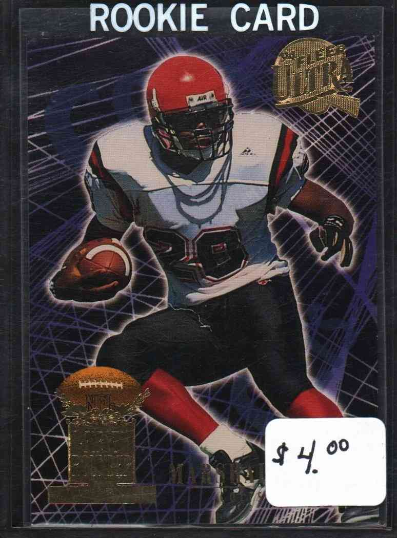 1994 Fleer Ultra Marshall Faulk 4 On Kronozio