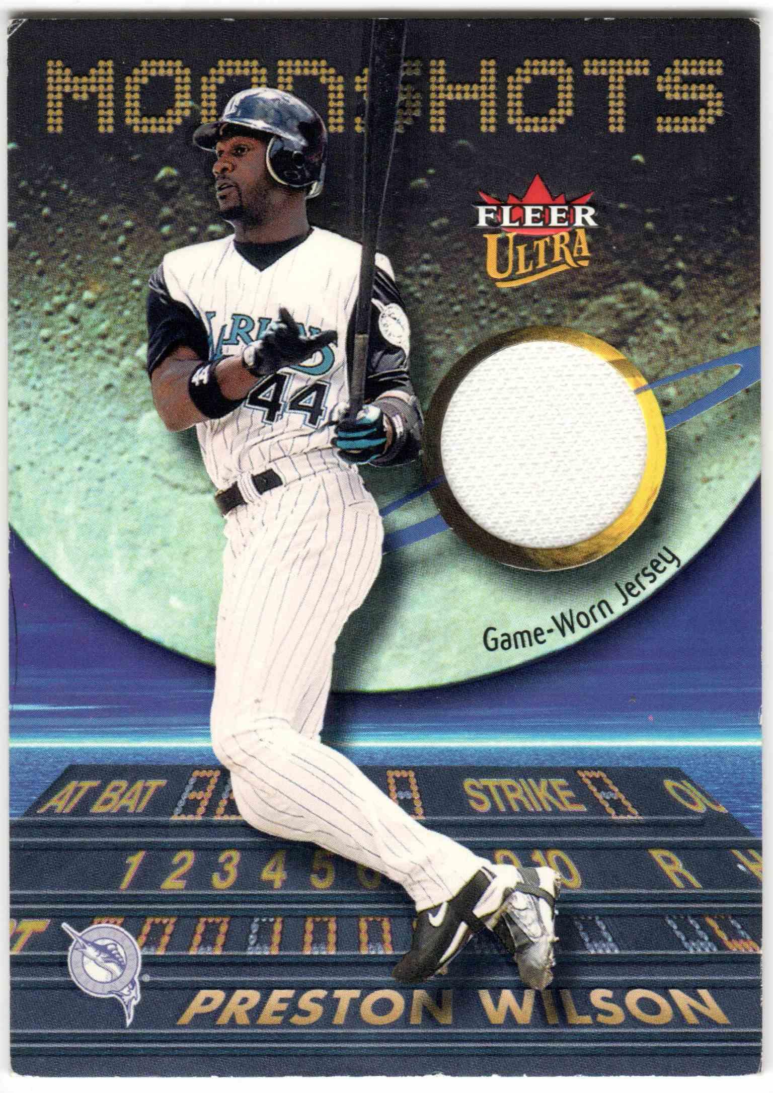 2003 Fleer Ultra Preston Wilson card front image