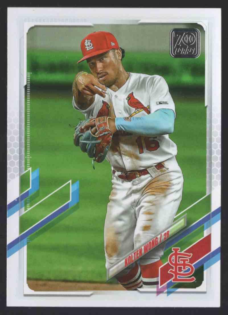2021 Topps Kolten Wong #75 card front image