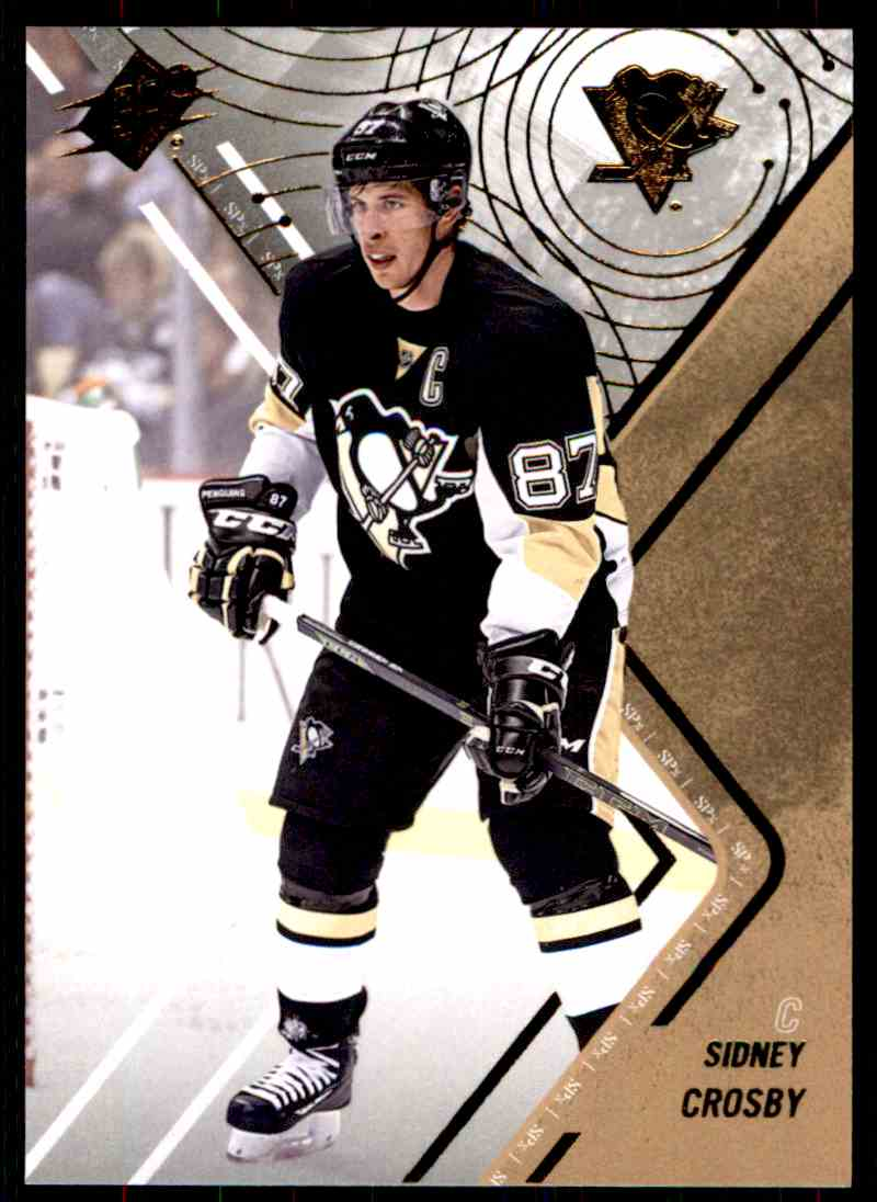2015-16 SPx Sidney Crosby #7 card front image