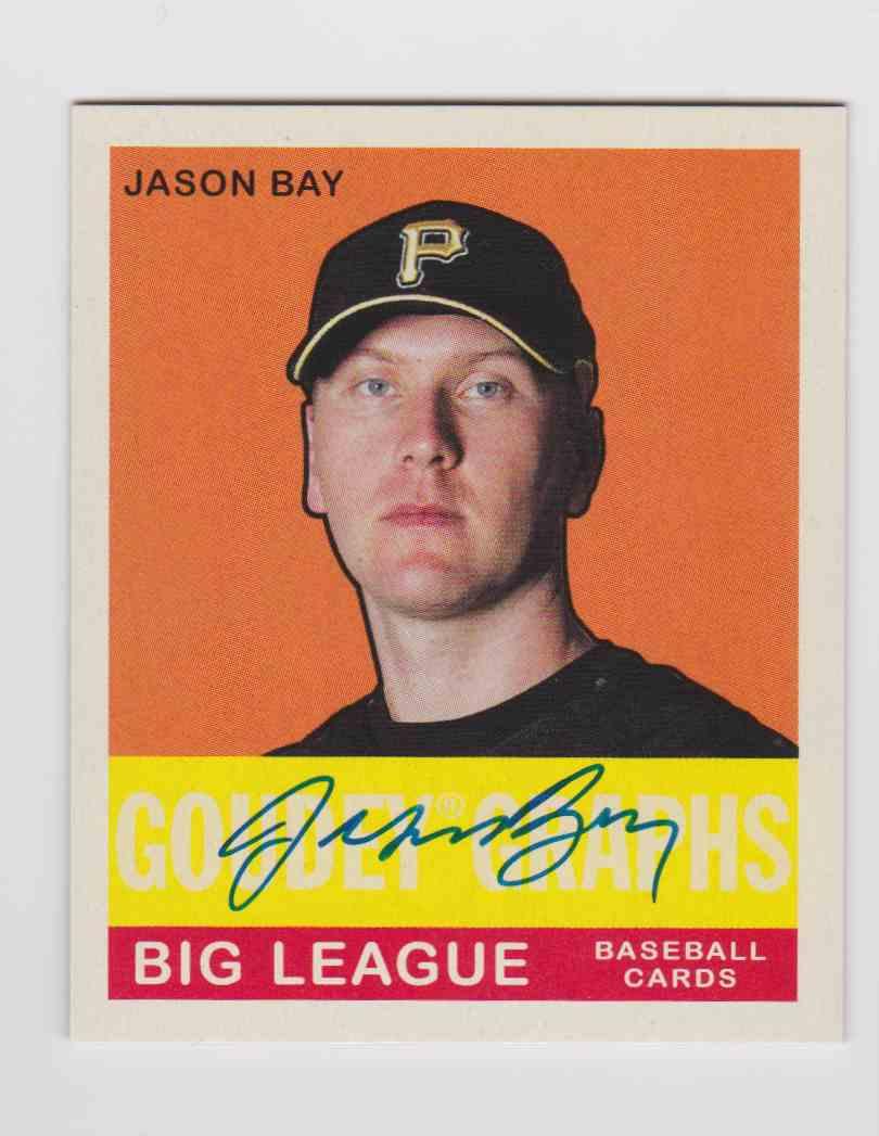 2007 Upper Deck Goudey Graphs Jason Bay #GG-JB card front image