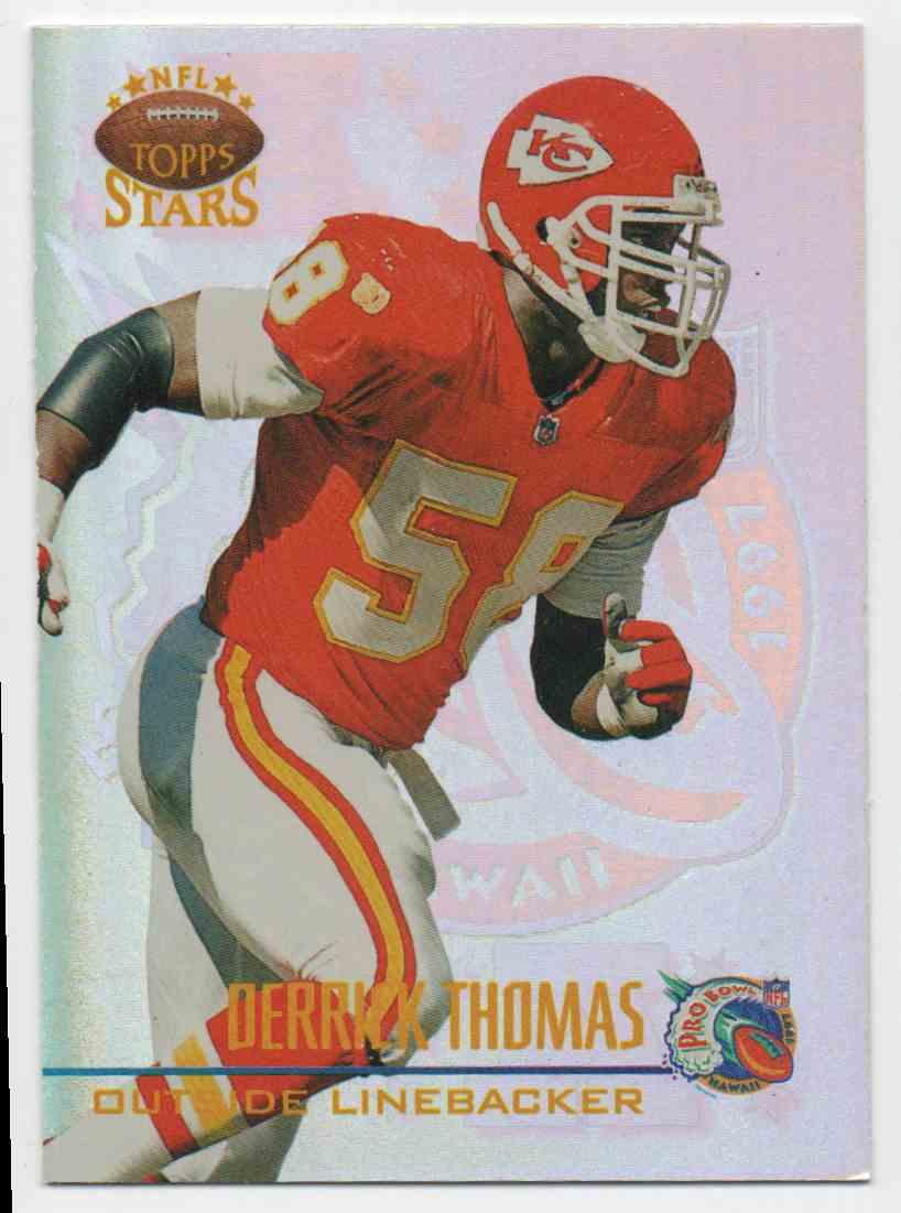 1997 Topps Stars Pro Bowl Derrick Thomas #27 card front image