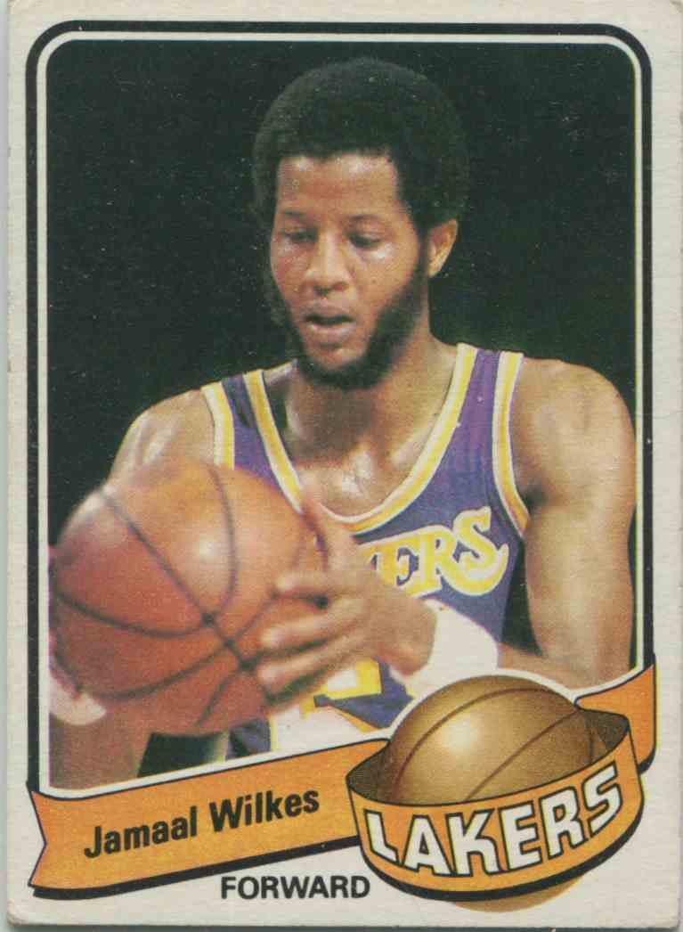1979 80 Topps Jamaal Wilkes 35 on Kronozio