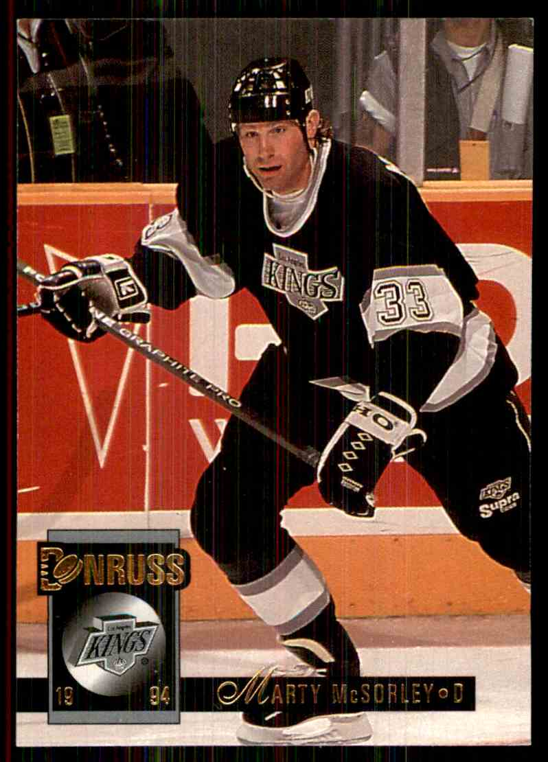1993-94 Donruss Marty McSorley #447 card front image