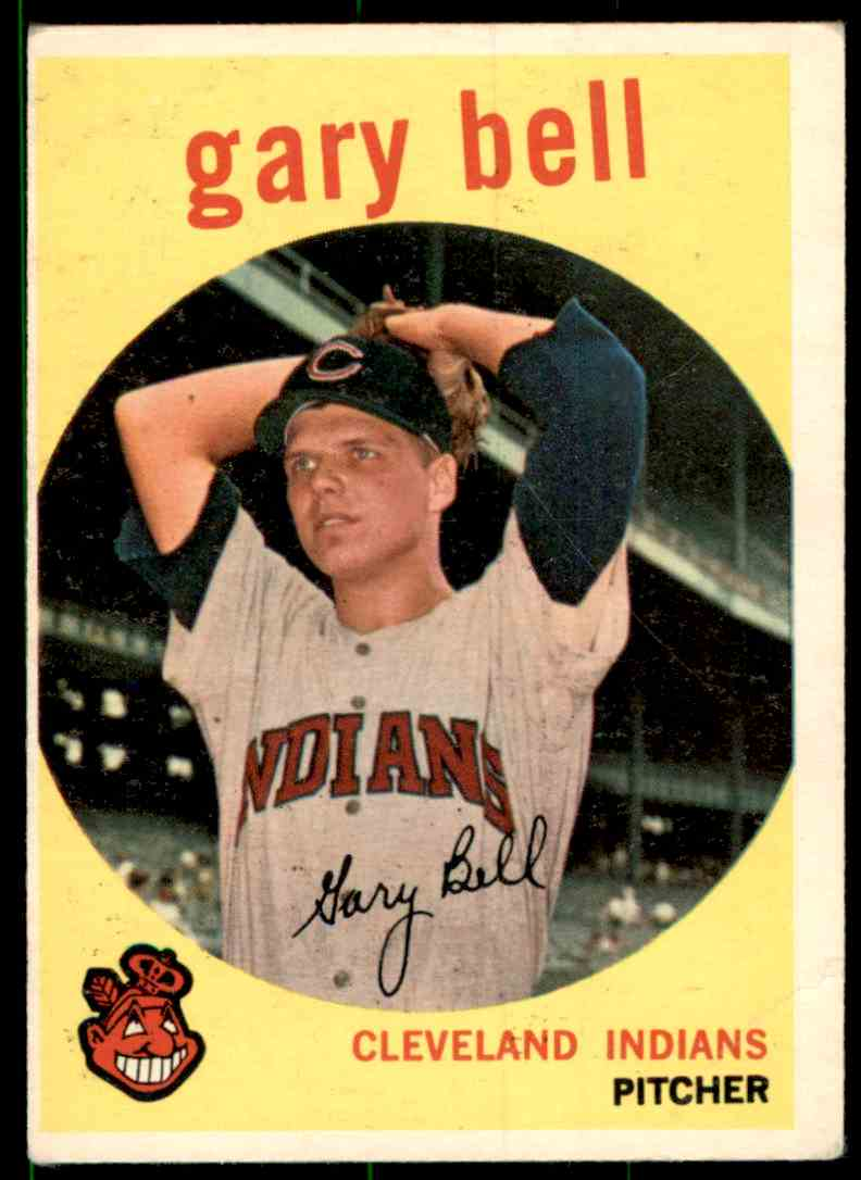 1959 Topps Gary Bell RC #327 card front image