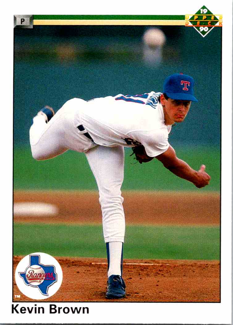 1990 Upper Deck Kevin Brown #123 on Kronozio
