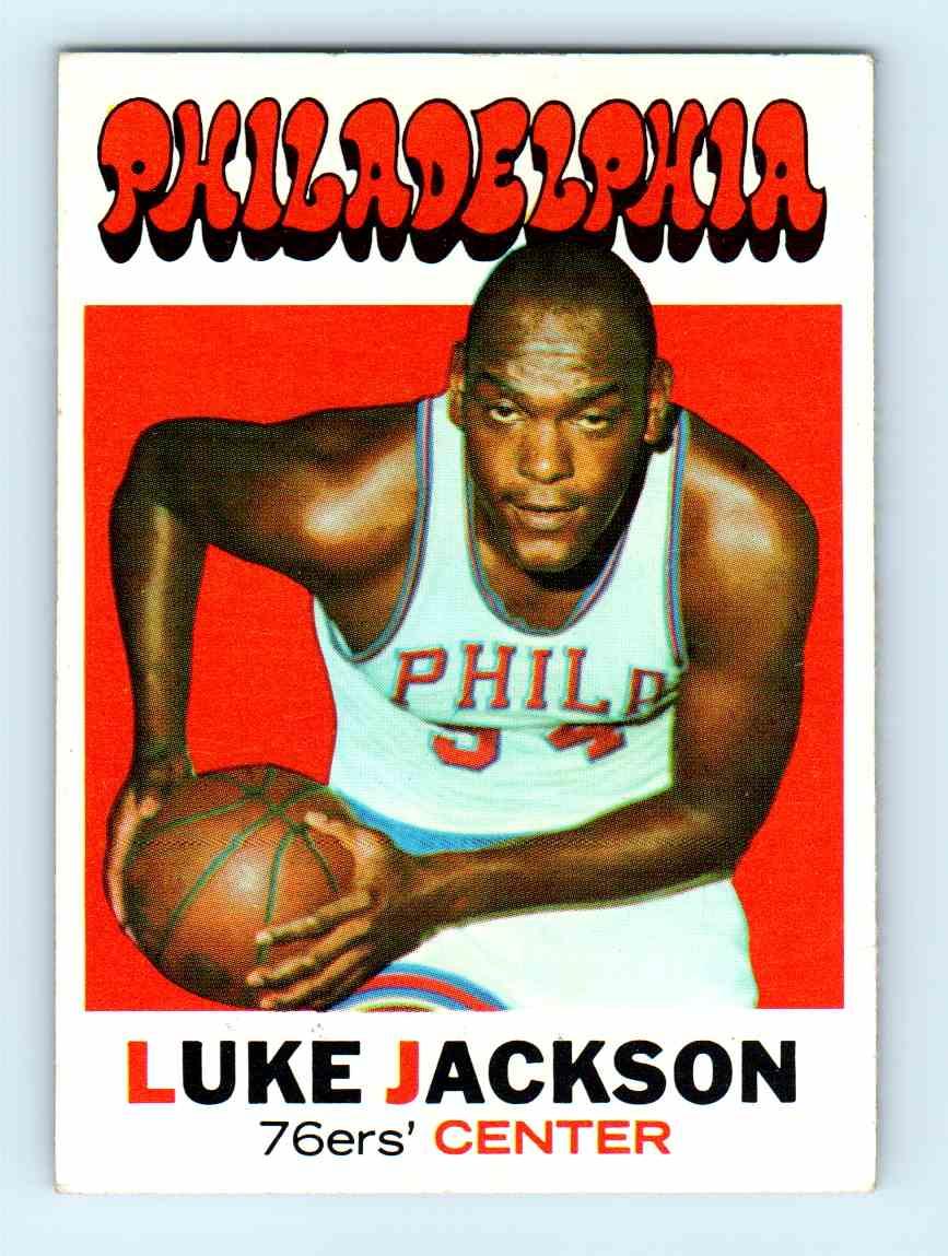 52 Luke Jackson trading cards for sale