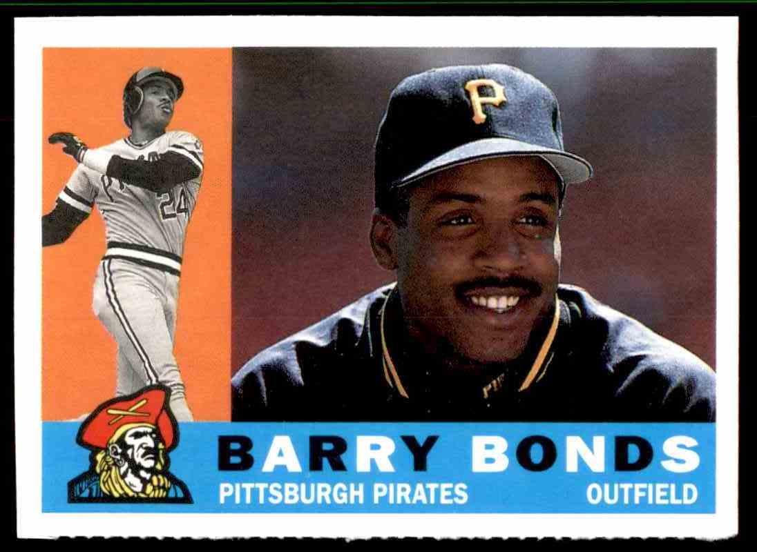 1990 Topps Magazine Barry Bonds 42 On Kronozio