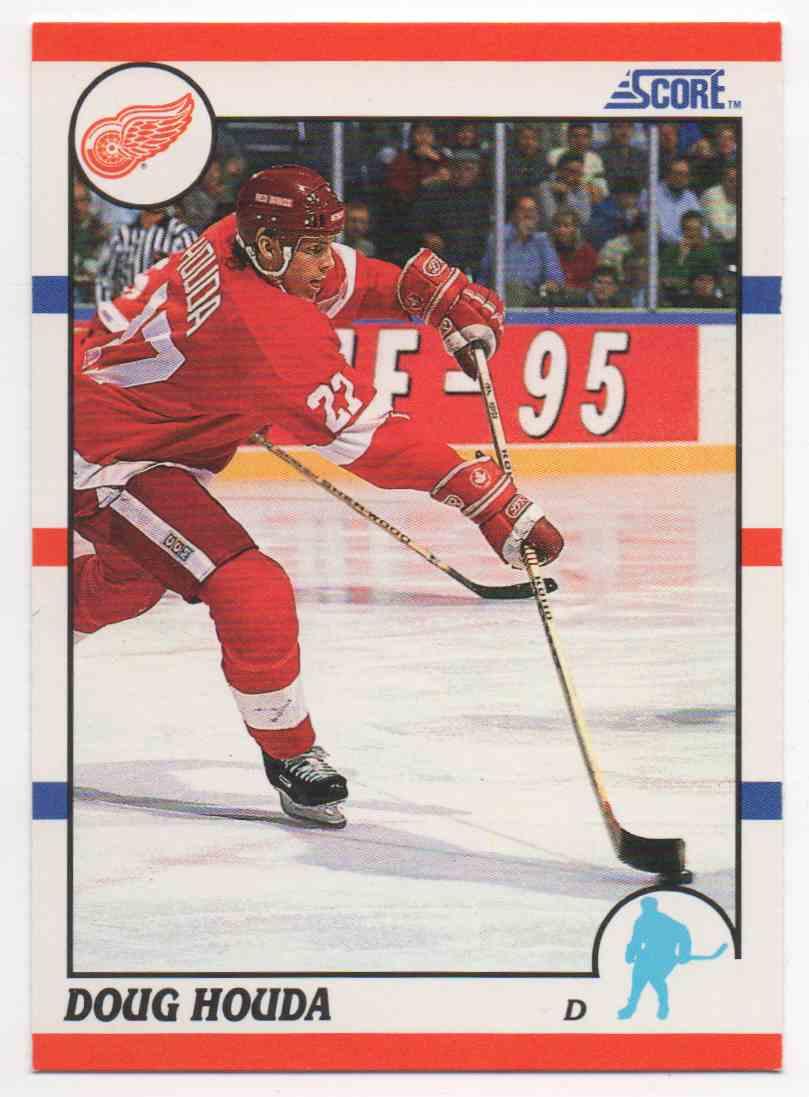 1990-91 Score Doug Houda #11 card front image