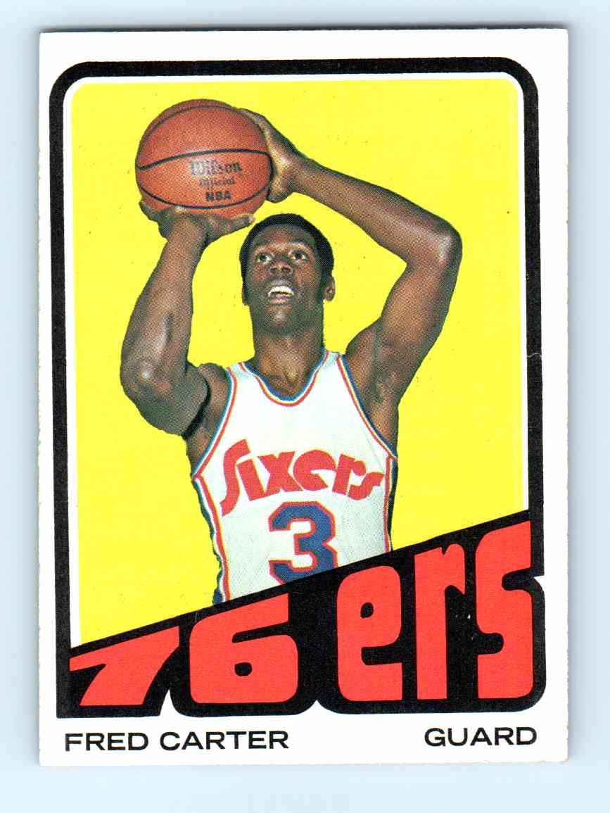 8 Fred Carter trading cards for sale