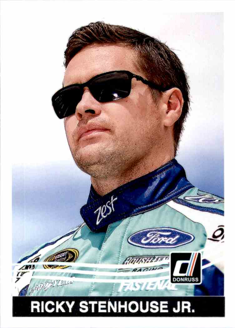 2017 Panini Donruss Racing Ricky Stenhouse JR. #156 card front image