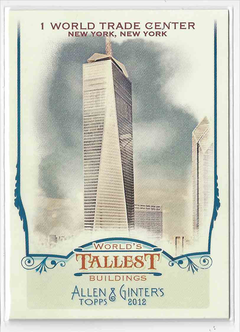 2012 Topps Allen & Ginter 1 World Trade Center #WTB5 card front image