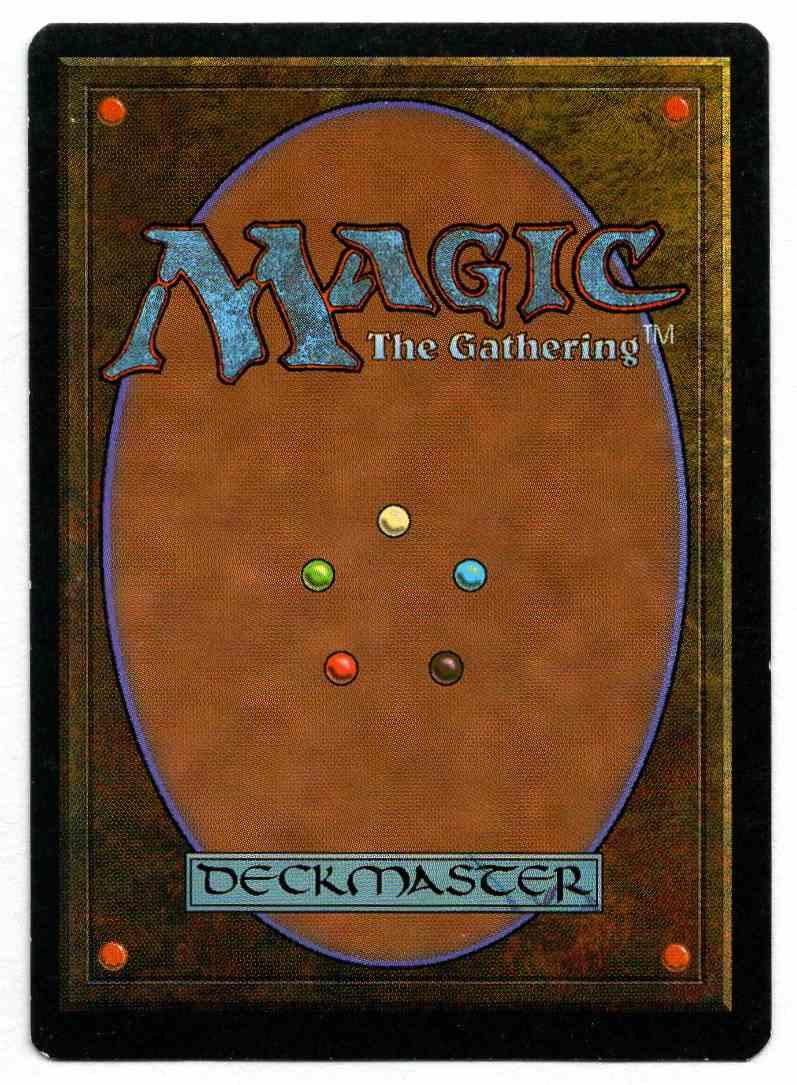 1995 Ice Age Icequake card back image