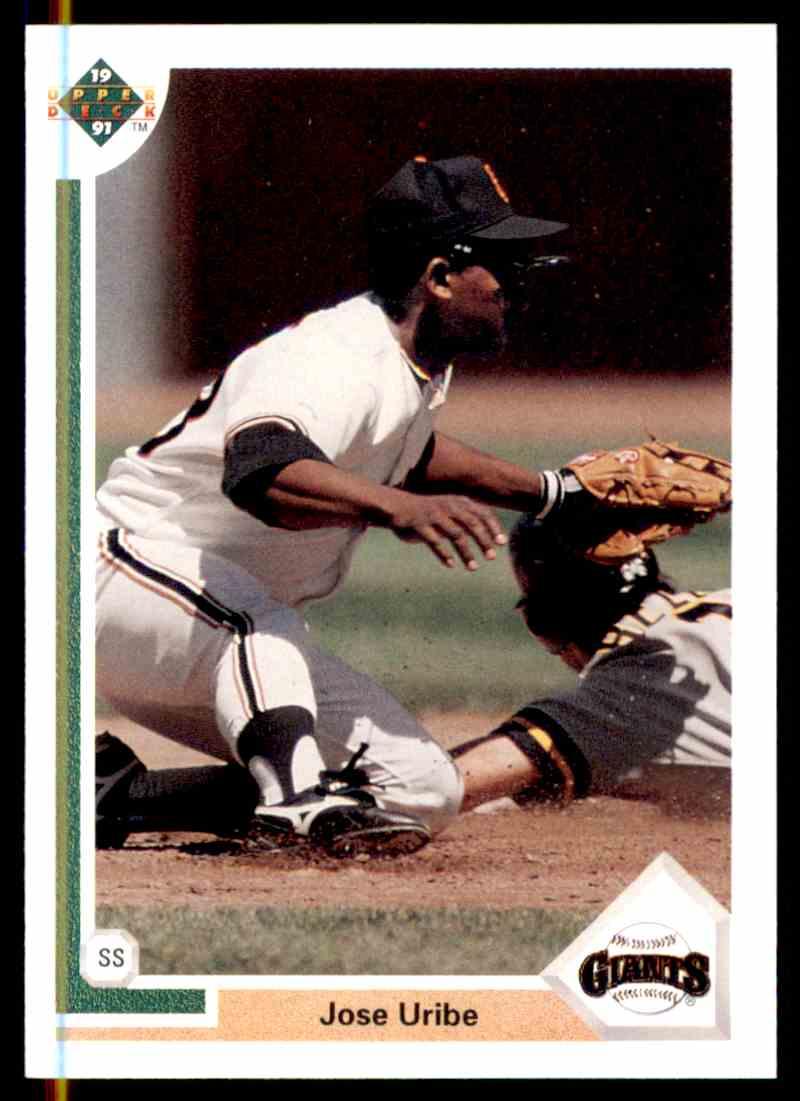 1991 Upper Deck Jose Uribe 207 On Kronozio