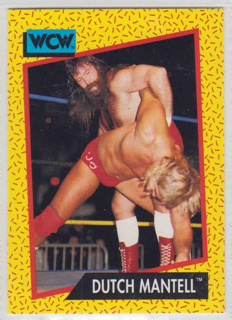 1991 Impel WCW Wrestling Dutch Mantell