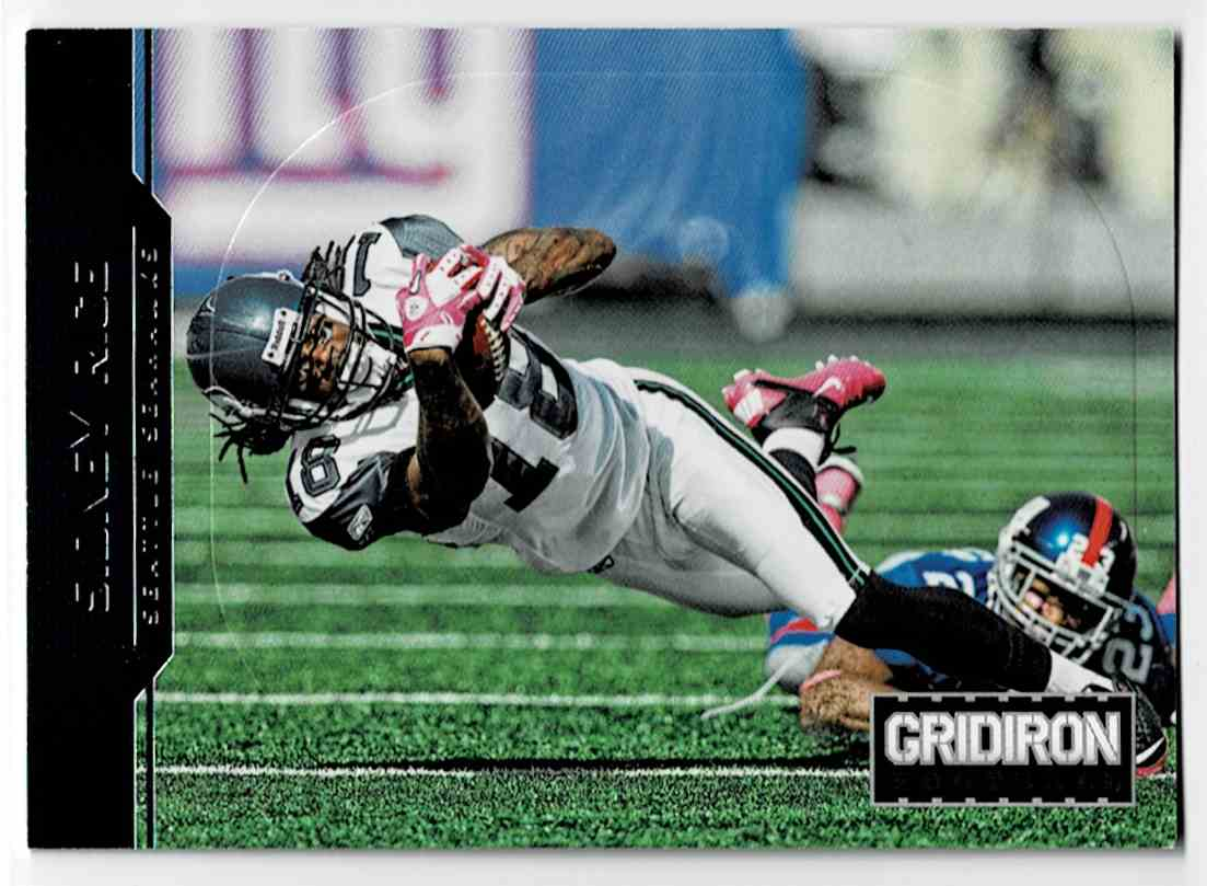 2012 Panini Gridiron Gear Silver O's Sidney Rice #174 card front image