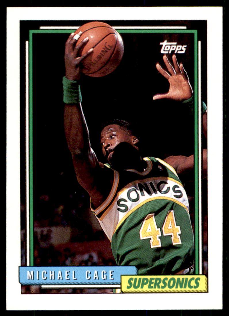 1992 93 Topps Michael Cage 79 on Kronozio