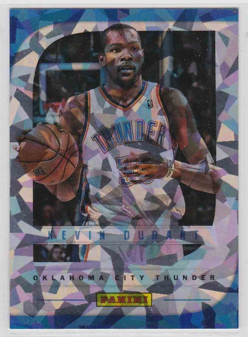 2013-14 Panini Father's Day Cracked Ice Kevin Durant #14 card front image