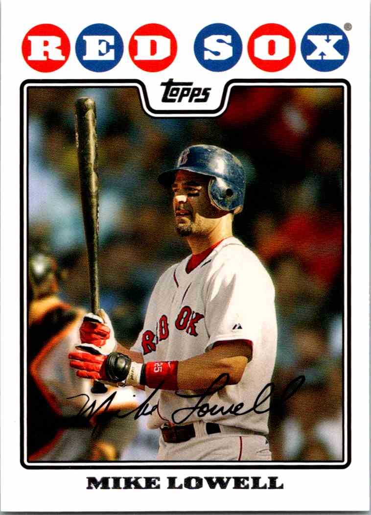 c8bcea07f 2008 Topps Mike Lowell  64 card front image