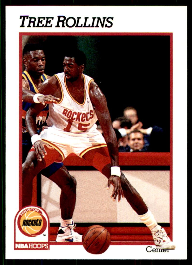 1991 92 Nba Hoops Tree Rollins 371 on Kronozio