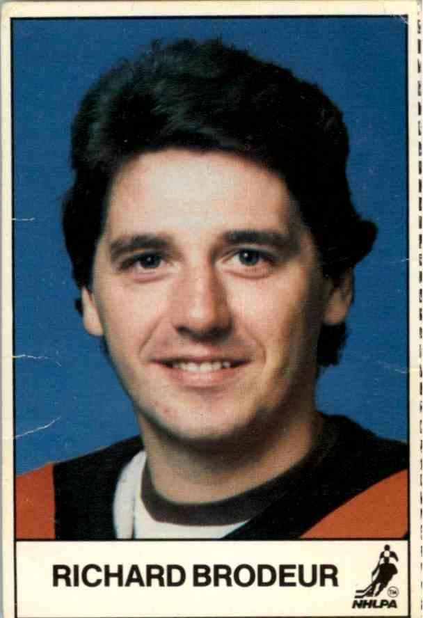 1983-84 Esso Richard Brodeur card front image