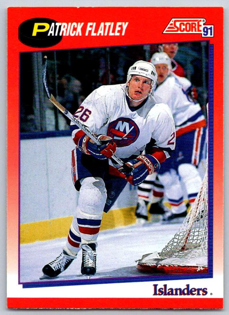1991-92 Score Canadian Bilingual Patrick Flatley #29 card front image