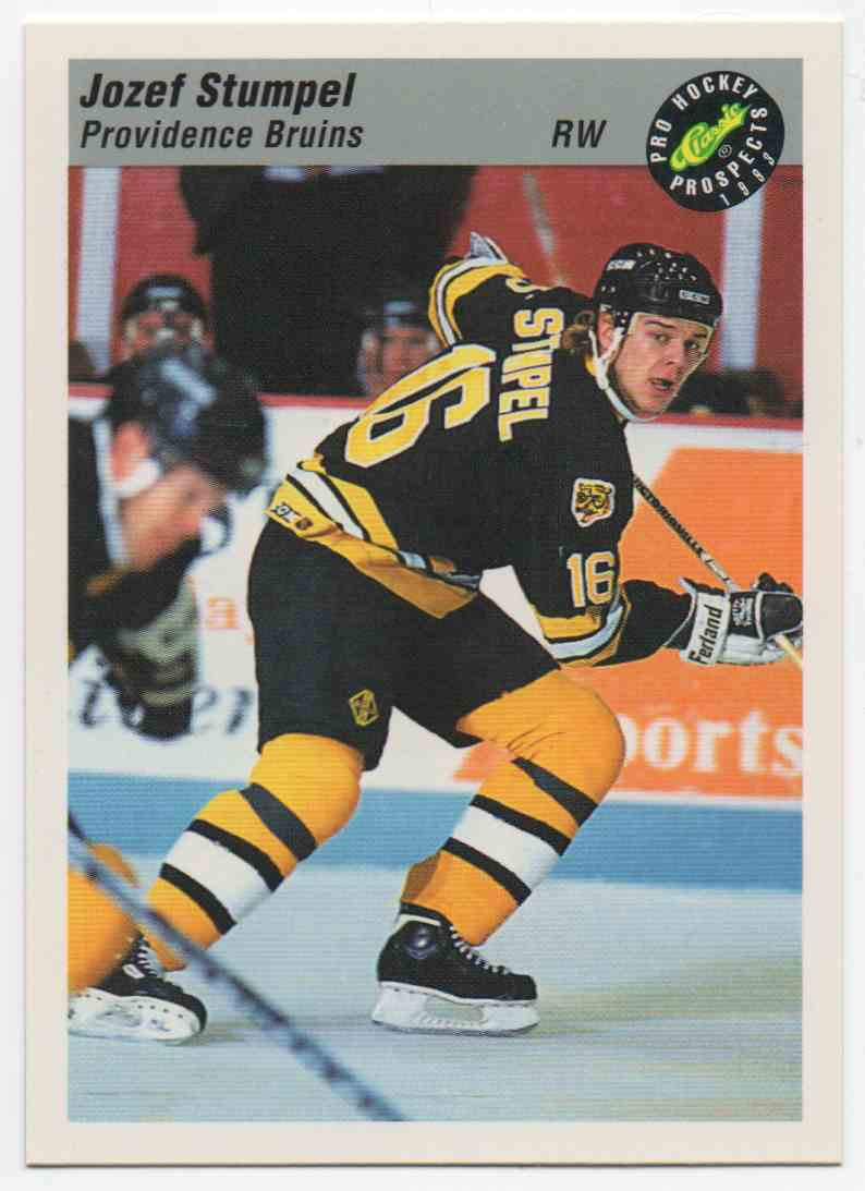 1993-94 Classic Pro Prospects Jozef Stumpel #83 card front image