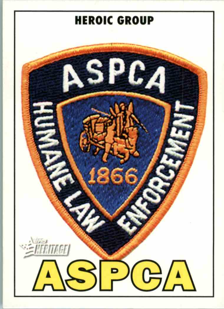 2009 Topps Heritage Aspca #59 card front image