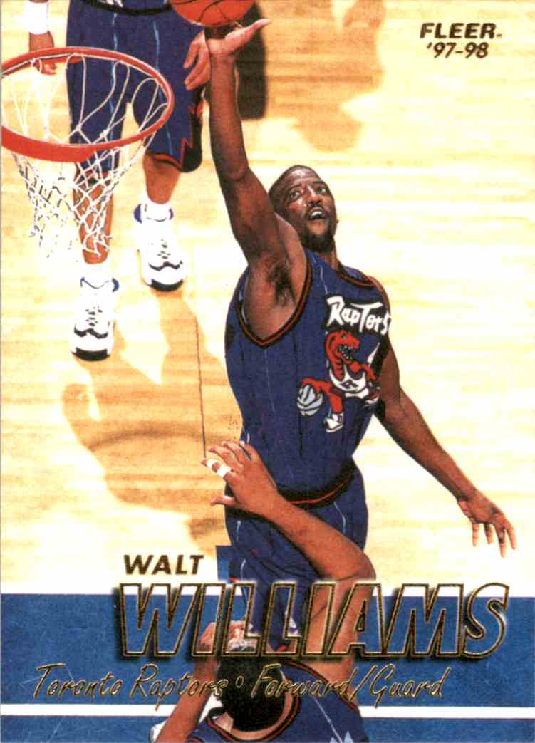 1997-98 Fleer Walt Williams #196 card front image