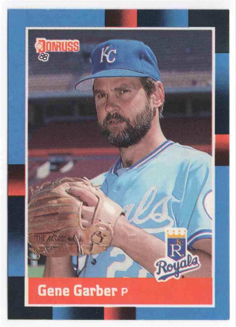 1988 Donruss Gene Garber #618 card front image