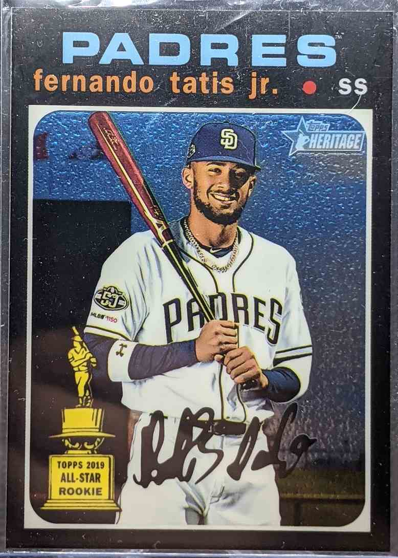 2020 Topps Heritage All-Star Rookie Cup Fernando Tatis JR. #THC-437 card front image