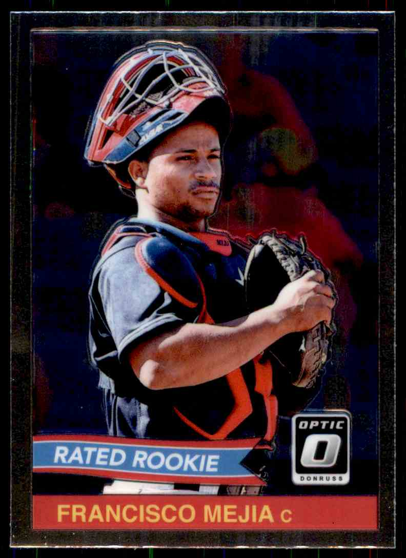 2018 Donruss Optic '84 Retro Francisco Mejia #RR6 card front image